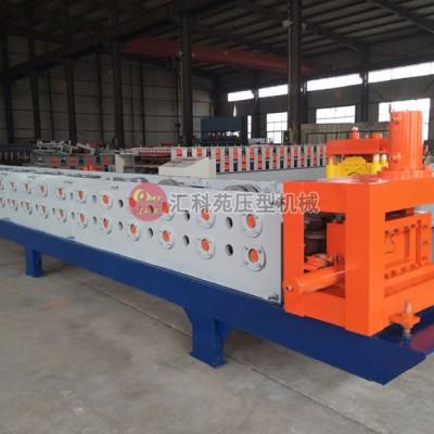 河北汇科苑冷弯机械公司专业生产超市仓储货架压型机设备